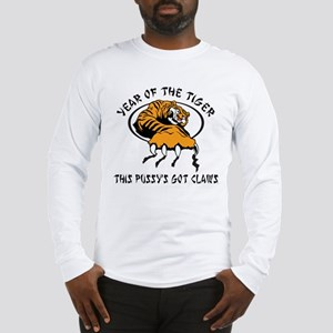 Naughty Year of The Tiger Women's Long Sleeve T-Sh