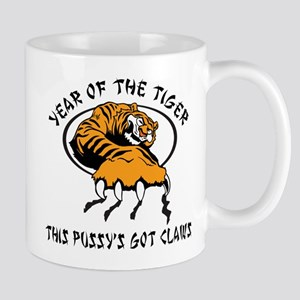 Naughty Year of The Tiger Women's Mug
