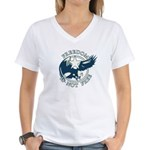 Freedom Is Not Free Women's V-Neck T-Shirt