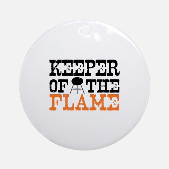 Keeper of the Flame (Grill) Ornament (Round)