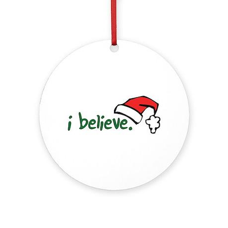 i believe. Ornament (Round)