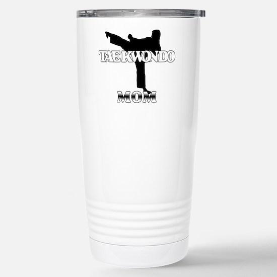 Taekwondo Mom Stainless Steel Travel Mug