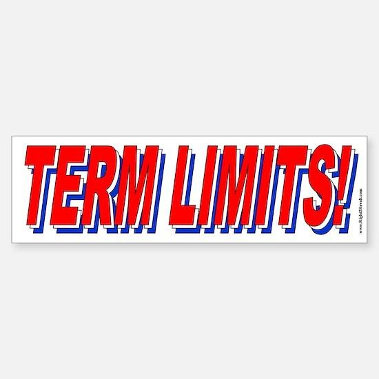 T-T-Term Limits (sticker)