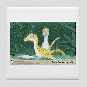Troodon formosis Tile Coaster