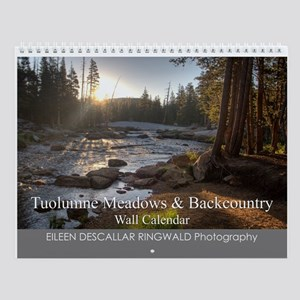 Tuolumne Meadows & Backcountry Wall Calendar