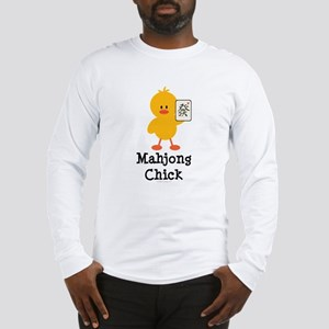 Mahjong Chick Long Sleeve T-Shirt
