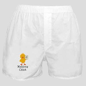 Mahjong Chick Boxer Shorts