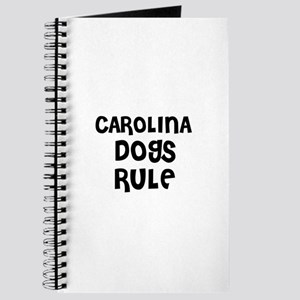 CAROLINA DOGS RULE Journal