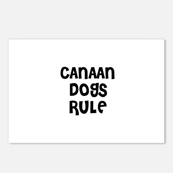 CANAAN DOGS RULE Postcards (Package of 8)