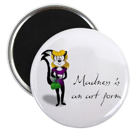"""Crazy Skunk 2.25"""" Magnet (100 pack)"""