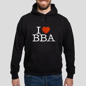 """I """"Heart"""" BBA Hoodie (dark)"""