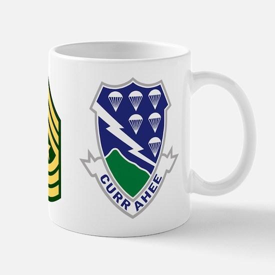 1-506th Infantry Sergeant Major 11 Ounce Mug