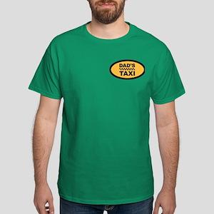Dad's Taxi (pocket) Dark T-Shirt