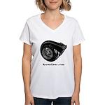 Turbo Shirt - Women's V-Neck T-Shirt
