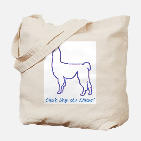 Can't Stop the Llama Tote Bag