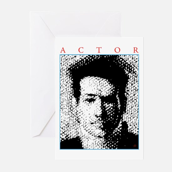 Actor Close-Up Greeting Cards (Pk of 20)