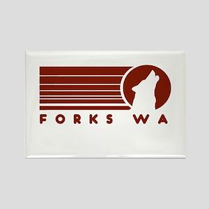 Forks Washington Rectangle Magnet