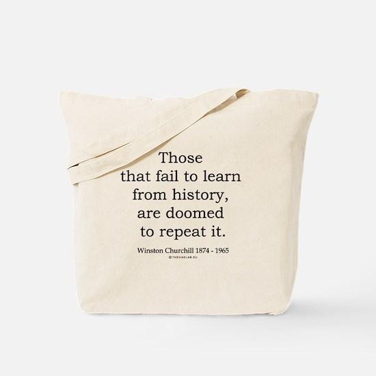 Winston Churchill 20 Tote Bag