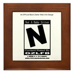 Video Game Is Rated N Framed Tile