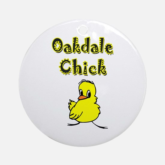 Oakdale Chick Ornament (Round)