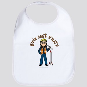 Light Rocket Scientist Bib