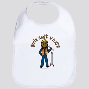 Dark Rocket Scientist Bib