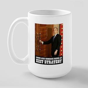 EXIT STRATEGY - Large Mug