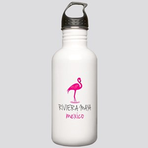 Riviera Maya, Mexico Stainless Water Bottle 1.0L