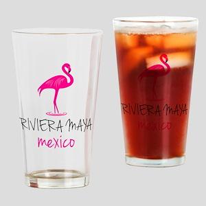 Riviera Maya, Mexico Drinking Glass