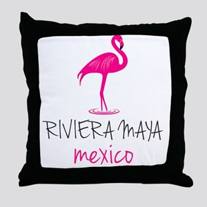 Riviera Maya, Mexico Throw Pillow