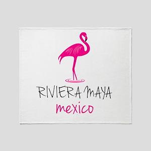 Riviera Maya, Mexico Throw Blanket