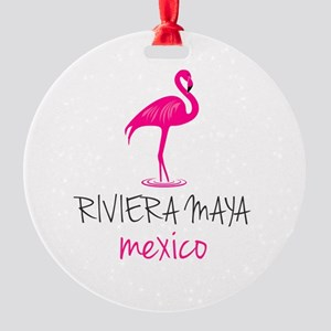 Riviera Maya, Mexico Round Ornament