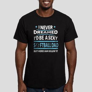 I'd Be A Softball Dad T Shirt T-Shirt
