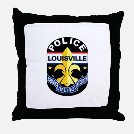 LMPD Patch Throw Pillow
