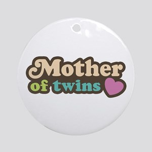 Mother of Twins Ornament (Round)