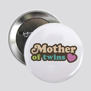"""Mother of Twins 2.25"""" Button"""