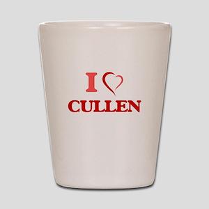 I Love Cullen Shot Glass