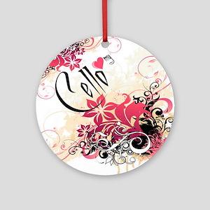 Heart My Cello Ornament (Round)