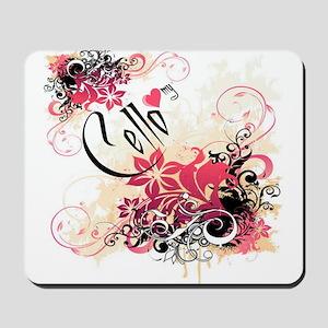 Heart My Cello Mousepad