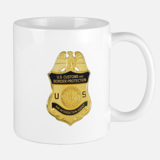 Customs Badge Mug