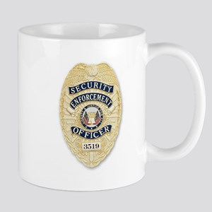 Security Enforcement Badge Mug