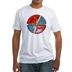 USS MARIAS Fitted T-Shirt