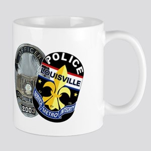 LMPD Badge and Patch Mug