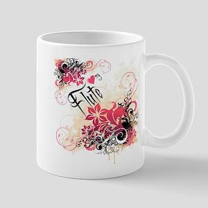 Heart My Flute Mug
