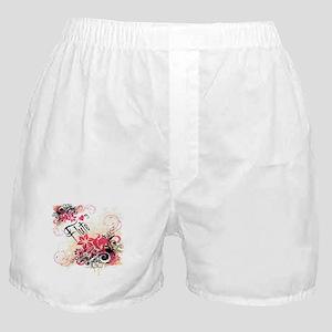 Heart My Flute Boxer Shorts