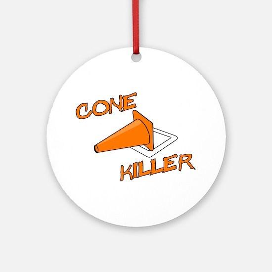 Cone Killer Ornament (Round)
