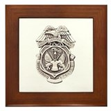 Army military police Framed Tiles