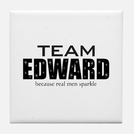 """Team Edward"" Tile Coaster"