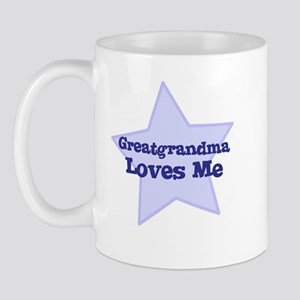 Greatgrandma Loves Me Mug