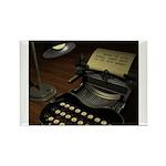 Typewriter Rectangle Magnet (100 pack)